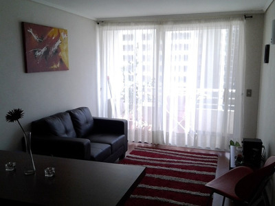 Departamento Amoblado Stgo Centro- 2 Dormitorios