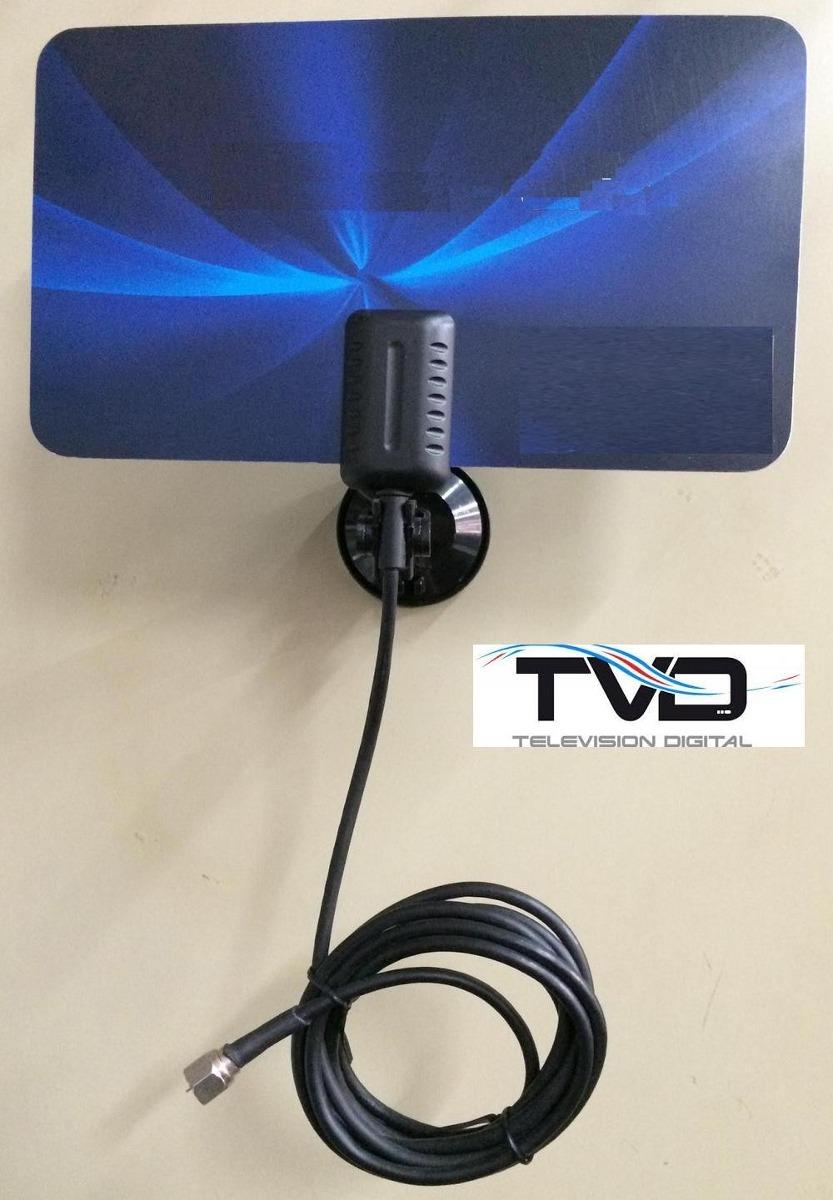 Antena hd para tv con sintonizador digital vendo en for Antenas de tv interiores