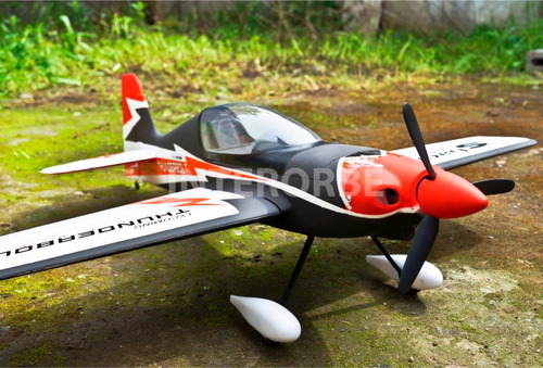 avión eléctrico radiocontrolado mini sbach 342 - interorbe