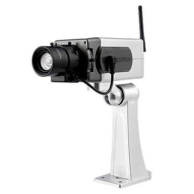 Camara de seguridad falsa vigilancia led sensor movimiento - Camaras de seguridad falsas ...