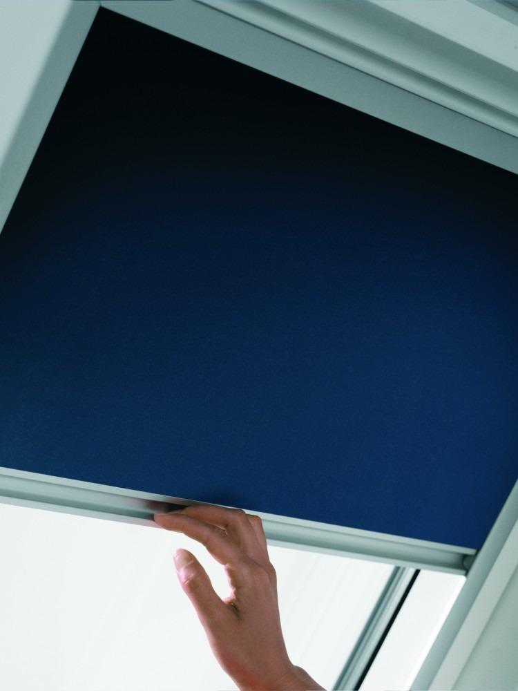 Cortina ventana de techo velux dkl s08 1100 en - Cortinas velux precios ...