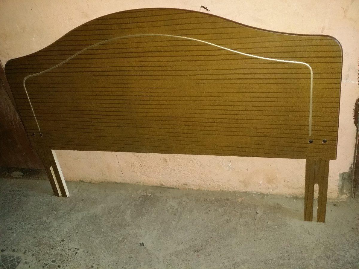 Respaldo de cama de dos plazas en mercado libre for Cama dos plazas