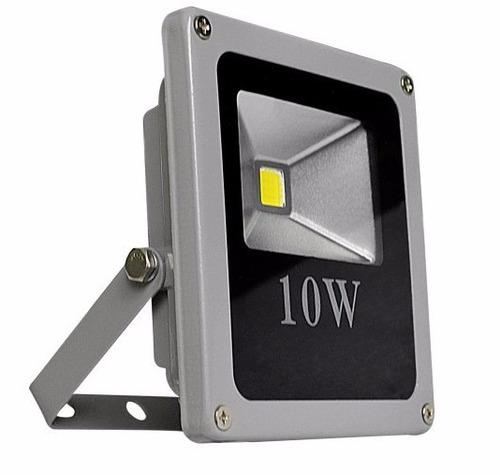 foco led extra plano 10w 6000k ip66