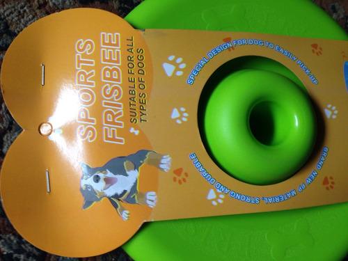frisbee mascotas disco para perros juego juguete cachorros