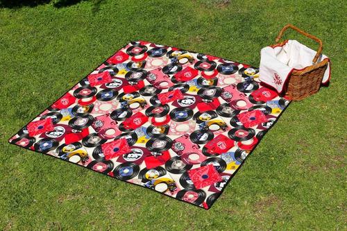 manta impermeable para picnic vinilos