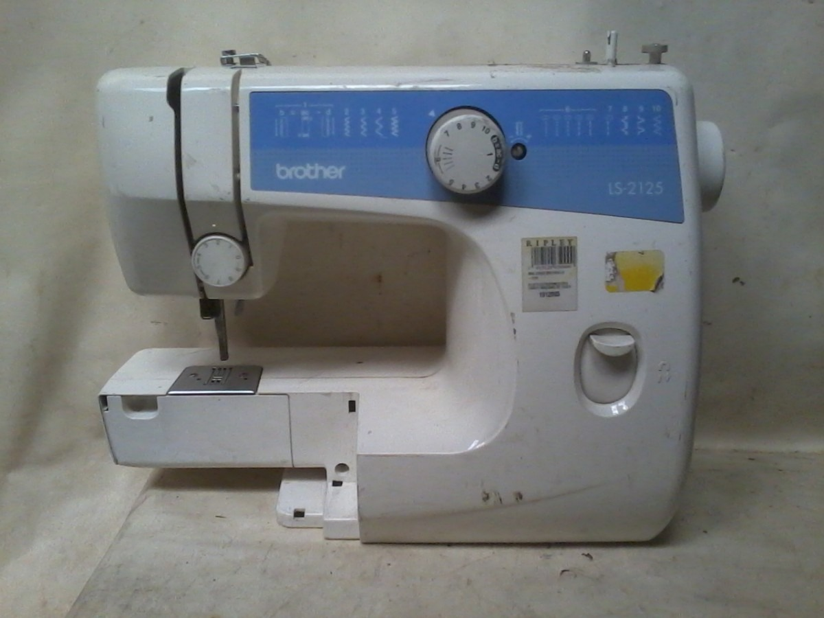 Maquina De Coser Brother Ls 2125 - $ 25.000 en Mercado Libre