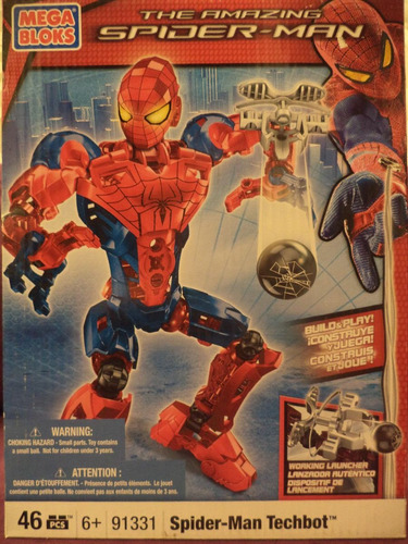 megablocks spider man (figura)