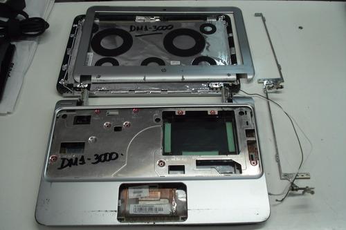 netbook hp dm1-3000 series carcasa y bisagras- desarme