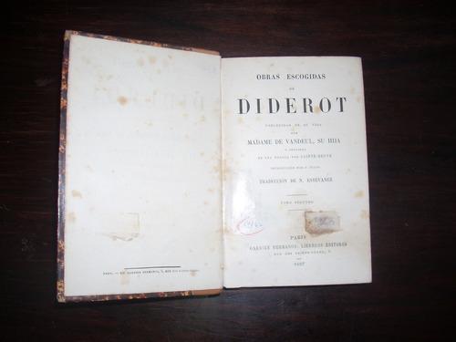 obras escogidas. t. ii.                       denis diderot.