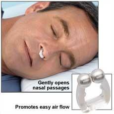 pack 3 clip biomagnetico anti ronquido unisex nose clip