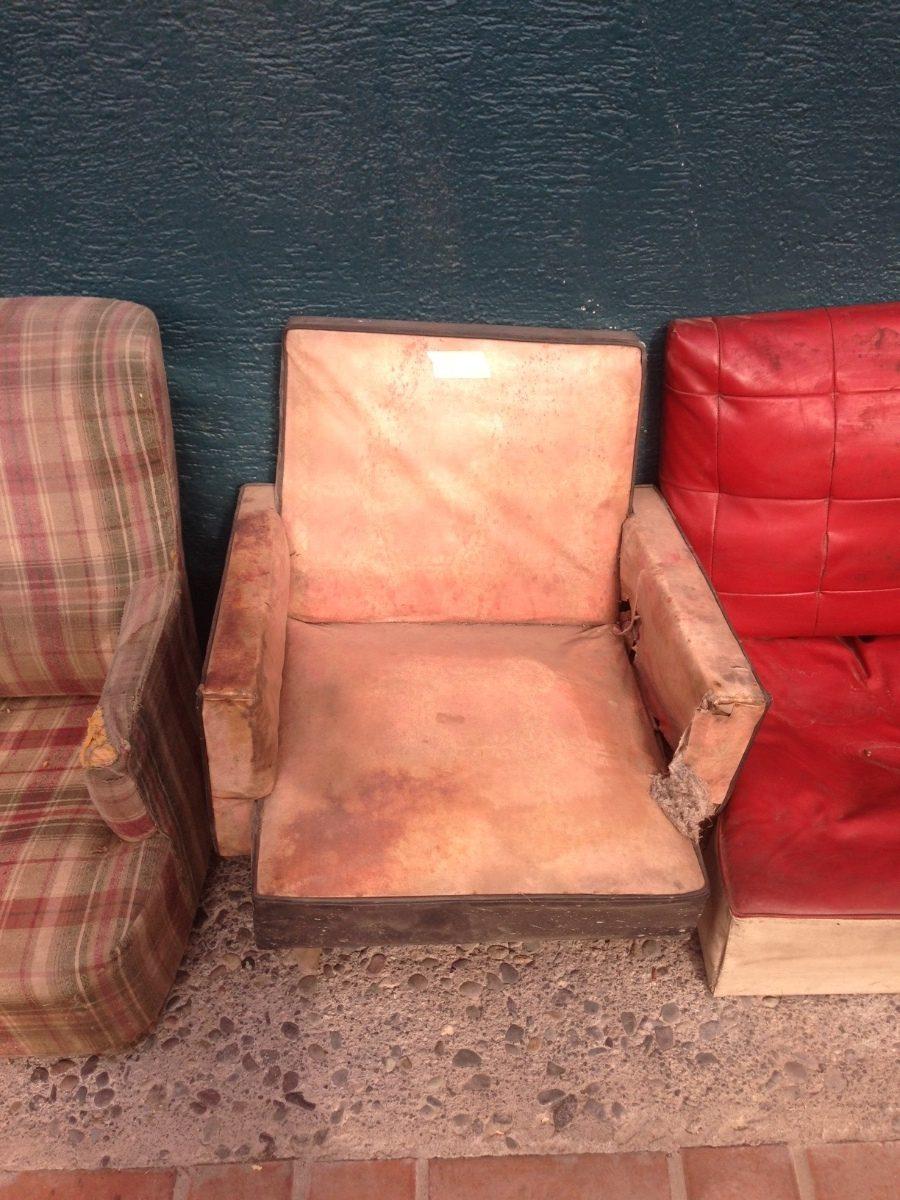 Remato antiguo sillon sonico para restaurar patas c nicas - Sillones antiguos para restaurar ...
