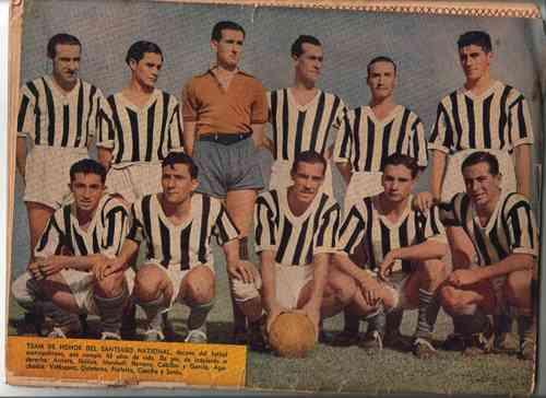 santiago national 1945, raul carabantes, rev. estadio n° 88